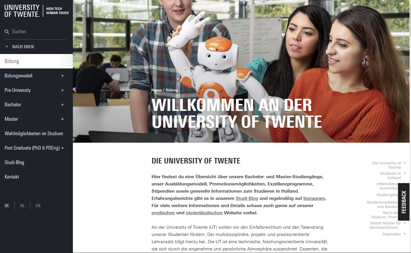 18 Universität Twente