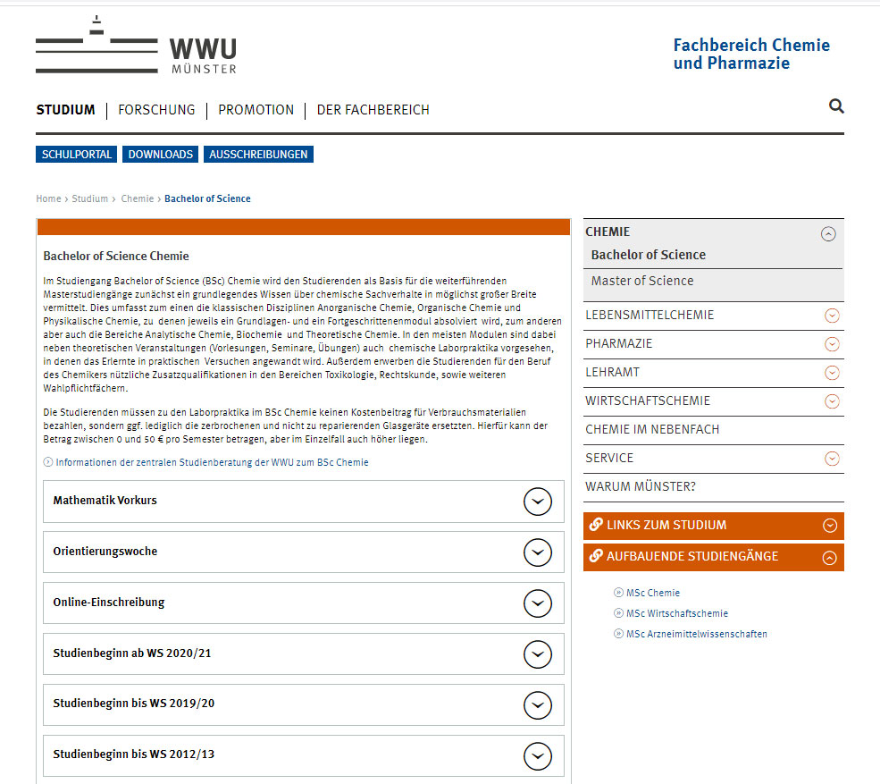 WWU-Muenster-Chemie